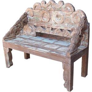 Garderobenbank JH0 aus Holz von Caracella