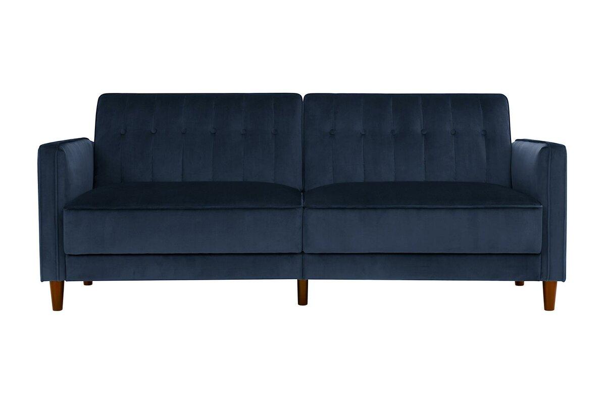 hammondale pin tufted convertible sofa. willa arlo interiors hammondale pin tufted convertible sofa