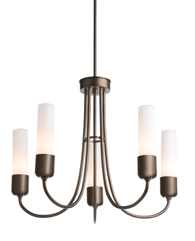 Hubbardton Forge Portico 5 Light Outdoor Chandelier