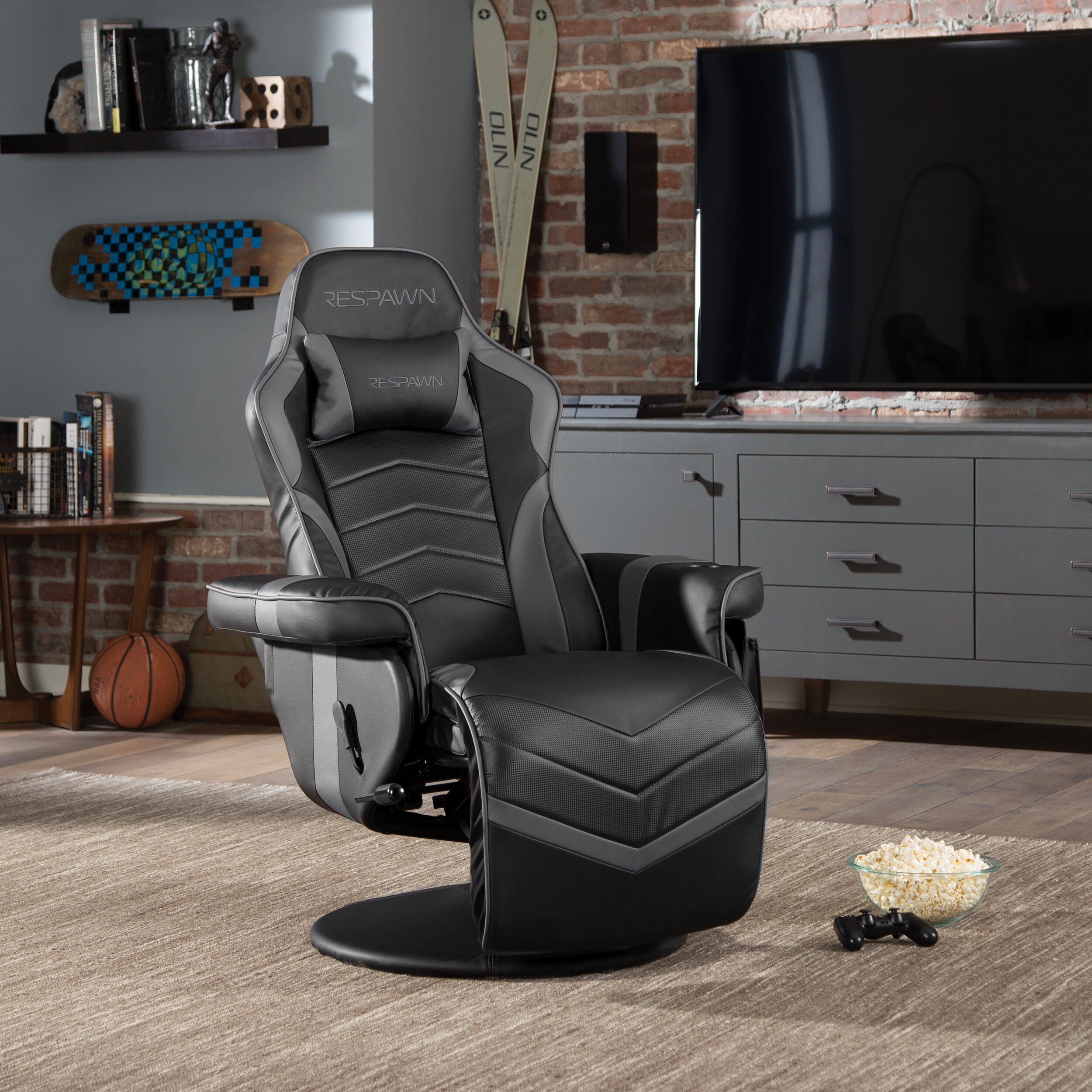 Astonishing Respawn Recliner Racing Game Chair Reviews Wayfair Caraccident5 Cool Chair Designs And Ideas Caraccident5Info