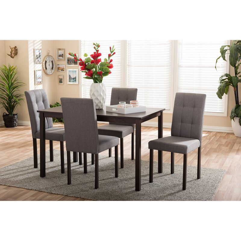 Baxton Studio 5 Piece Dining Set