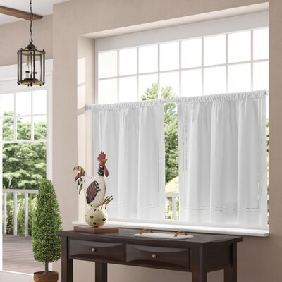 cafe curtains for living room window valances caf 233 amp kitchen curtains you ll wayfair 18490