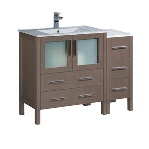 Torino 42″ Single Bathroom Vanity Set