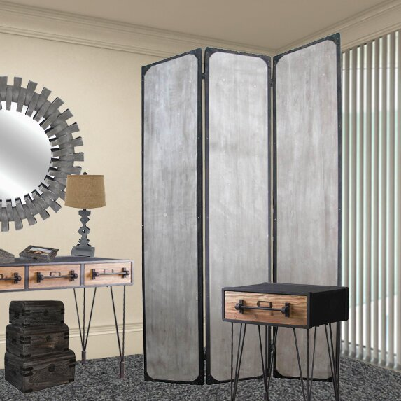 Screen Gems Industrial Room Divider Wayfair