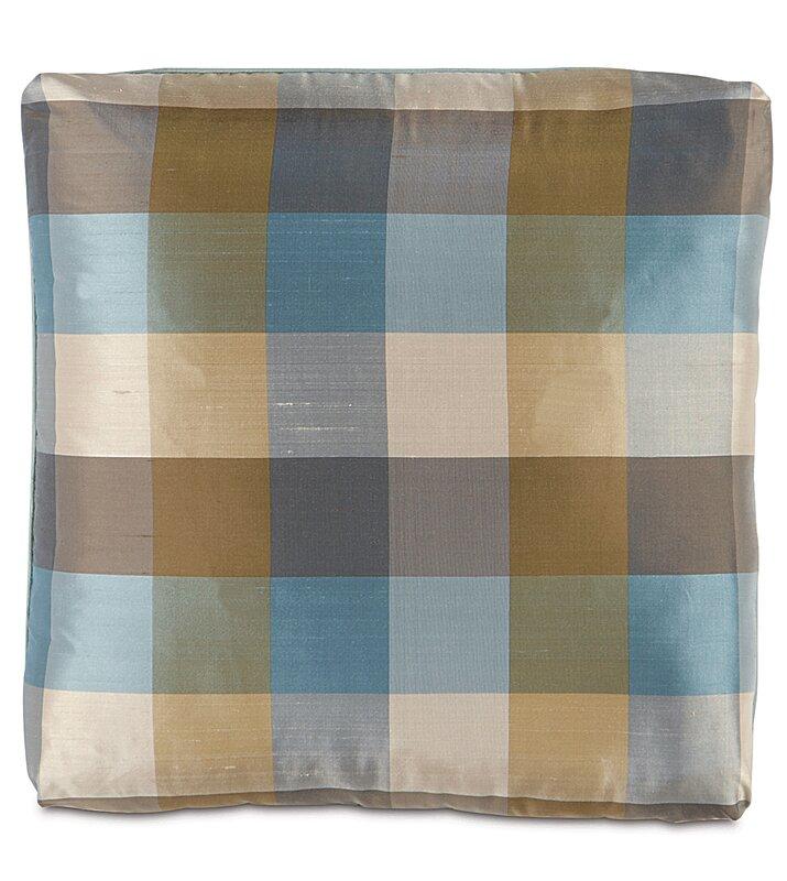 Kinsey Beckford Sky with Turkish Corners Throw Pillow