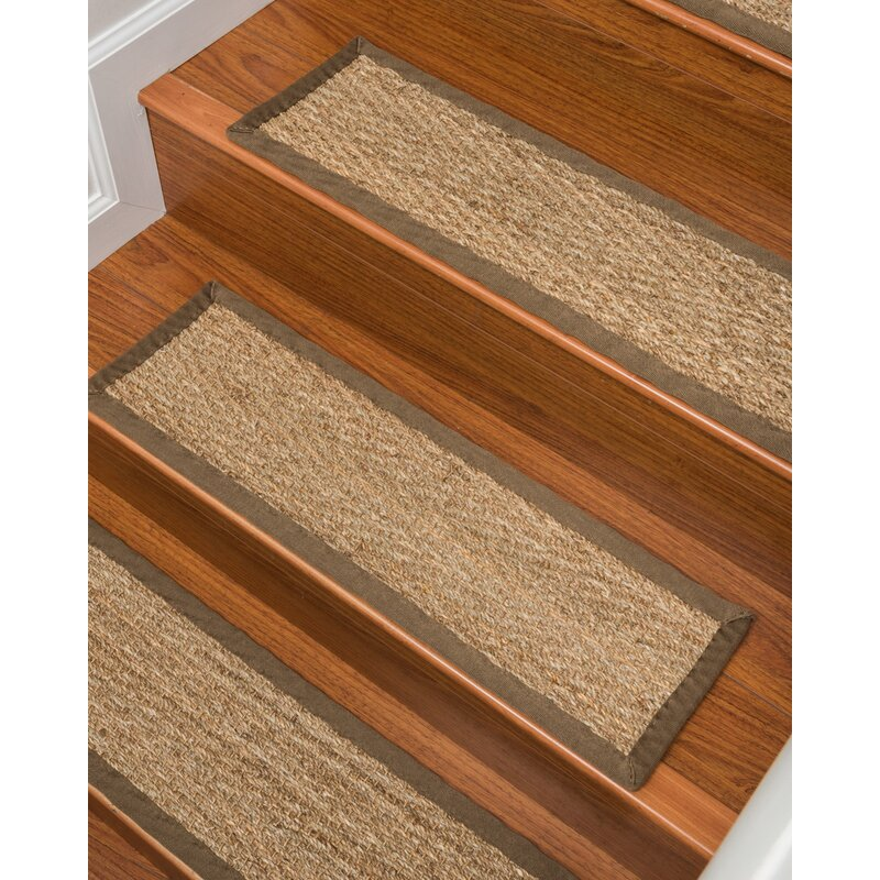Beach Seagr Carpet Beige Stair Tread