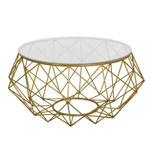 Diamond Wire Coffee Table by Fashion N You by Horizon Interseas