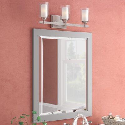 Mirrors you 39 ll love wayfair for Hanging bathroom vanity mirror