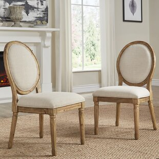 Lachance Round Upholstered Dining Chair (Set of 2)