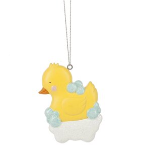 Rubber Ducky Hanging Figurine