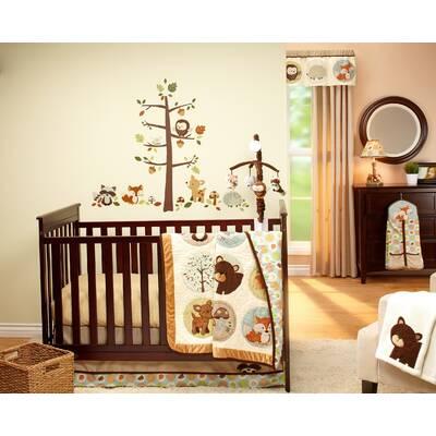 Friends 4 Piece Crib Bedding Set