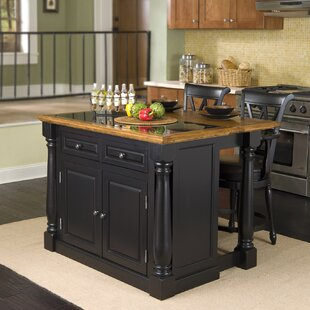 Gironde 3 Piece Kitchen Island Set