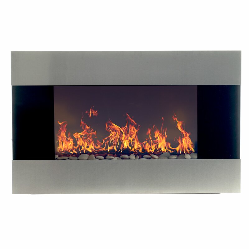 Wade Logan Clairevale Wall Mounted Electric Fireplace