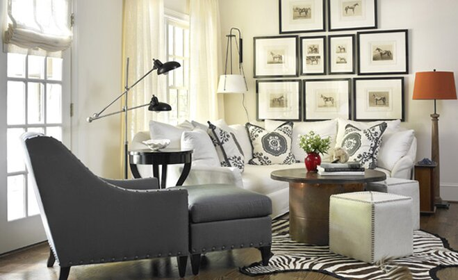A Small Living Room On a Budget | Wayfair