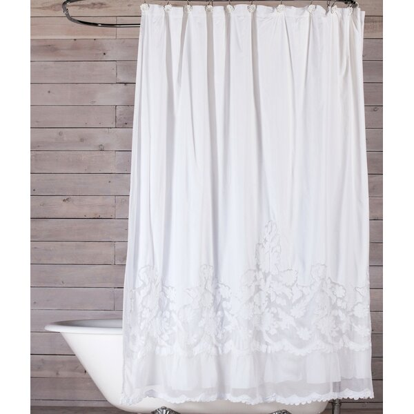 Pom At Home Caprice Cotton Single Shower Curtain Reviews