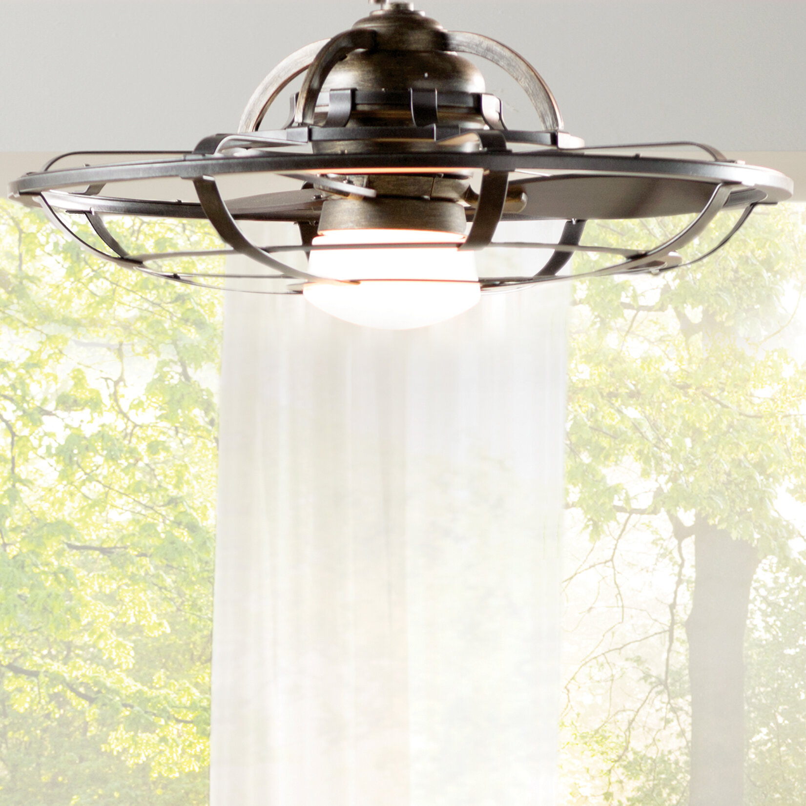 Galvanized Outdoor Ceiling Fan