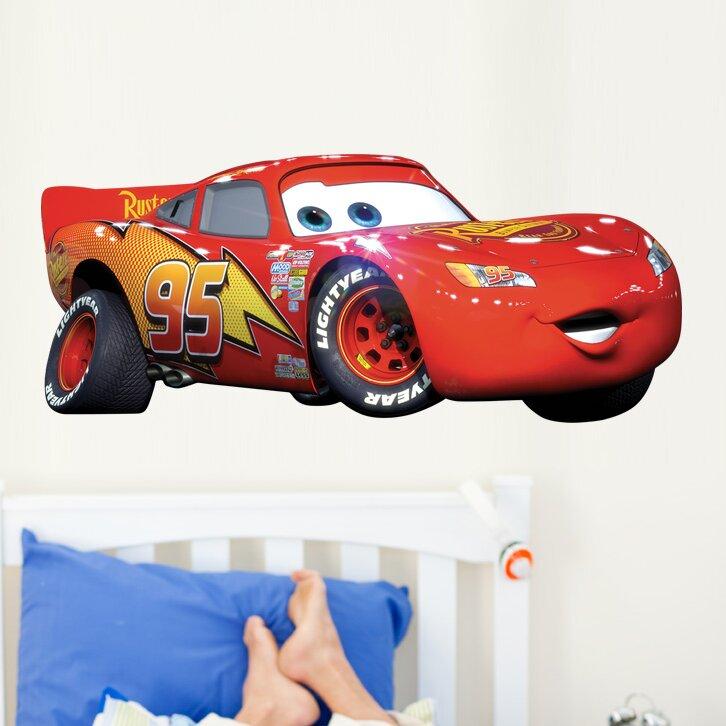 Wallhogs Disney Quot Cars Quot Lightning Mcqueen Wall Decal