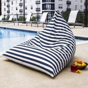 outdoor beanbag wayfair rh wayfair com bean bag outdoor chair Giant Bean Bag Furniture