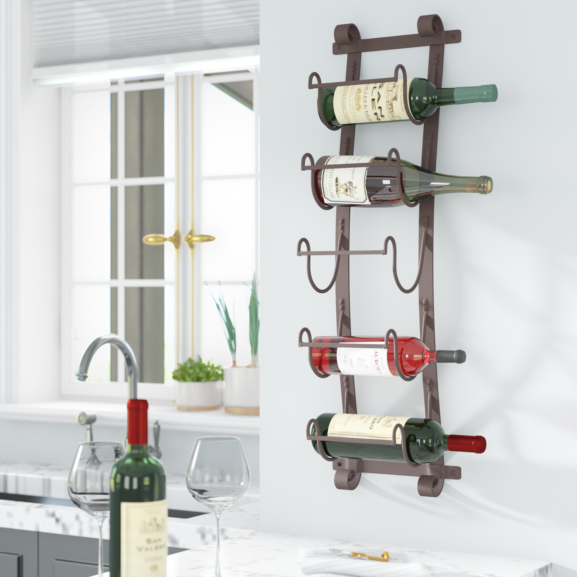 mount rack of up racks to wine holds home pin wall for bottles beautiful upton this storage