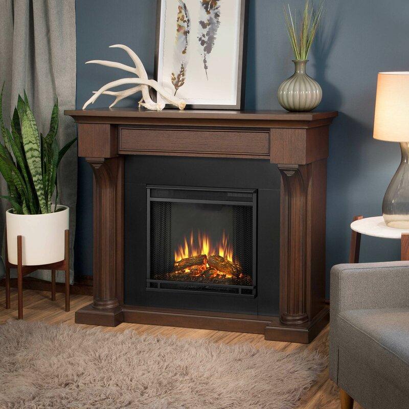 Real Flame Verona Electric Fireplace & Reviews   Wayfair