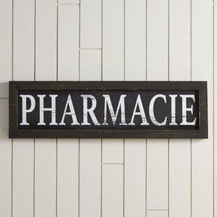 Pharmacie Plaque