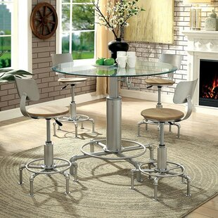Emmaline 5 Piece Dining Table Set