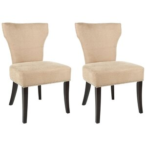 Maria Upholstered Dining Chair (Set of 2) by Safavieh