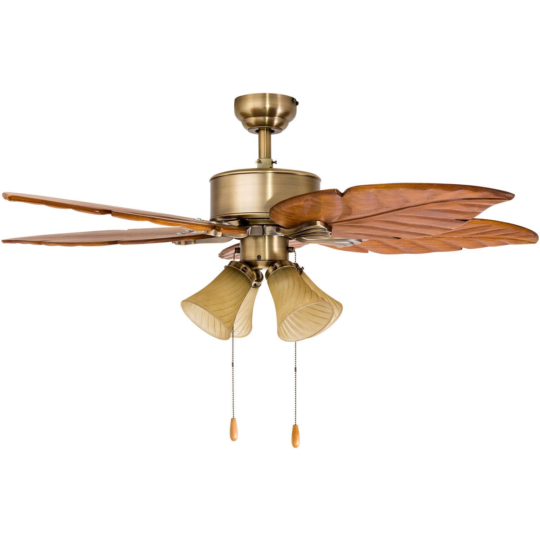 """Calcutta 52"""" St Marks 4 Light 5 Blade Ceiling Fan"""