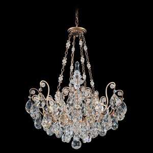 Renaissance 8-Light Crystal Chandelier