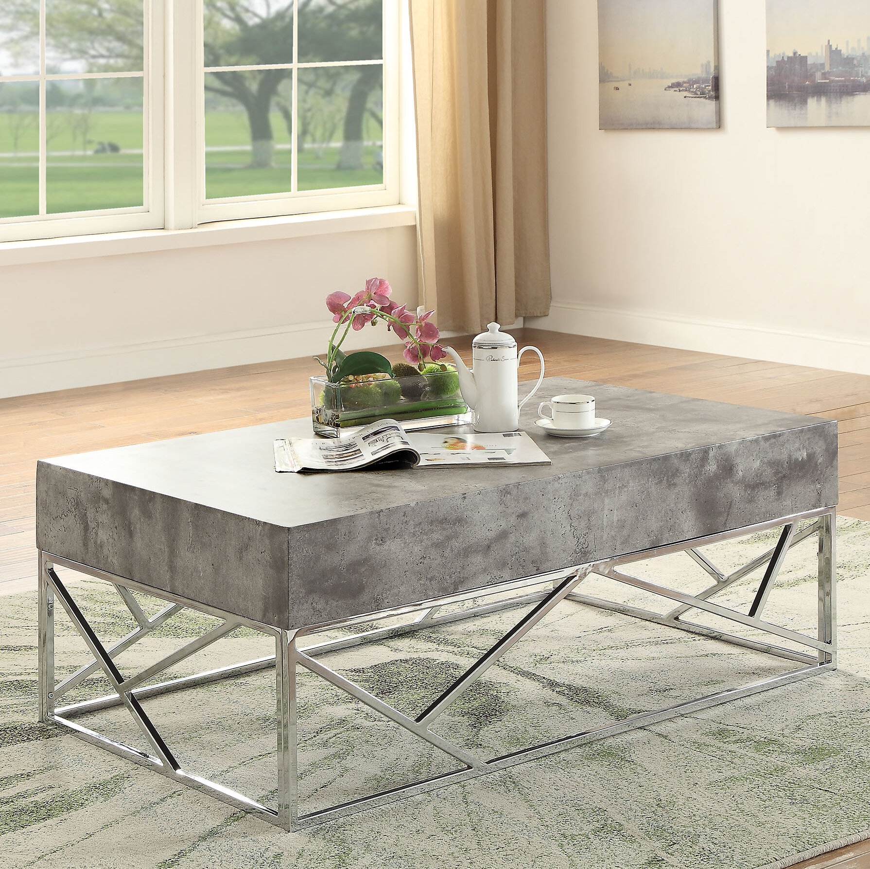 Bon Orren Ellis Hutson Coffee Table | Wayfair