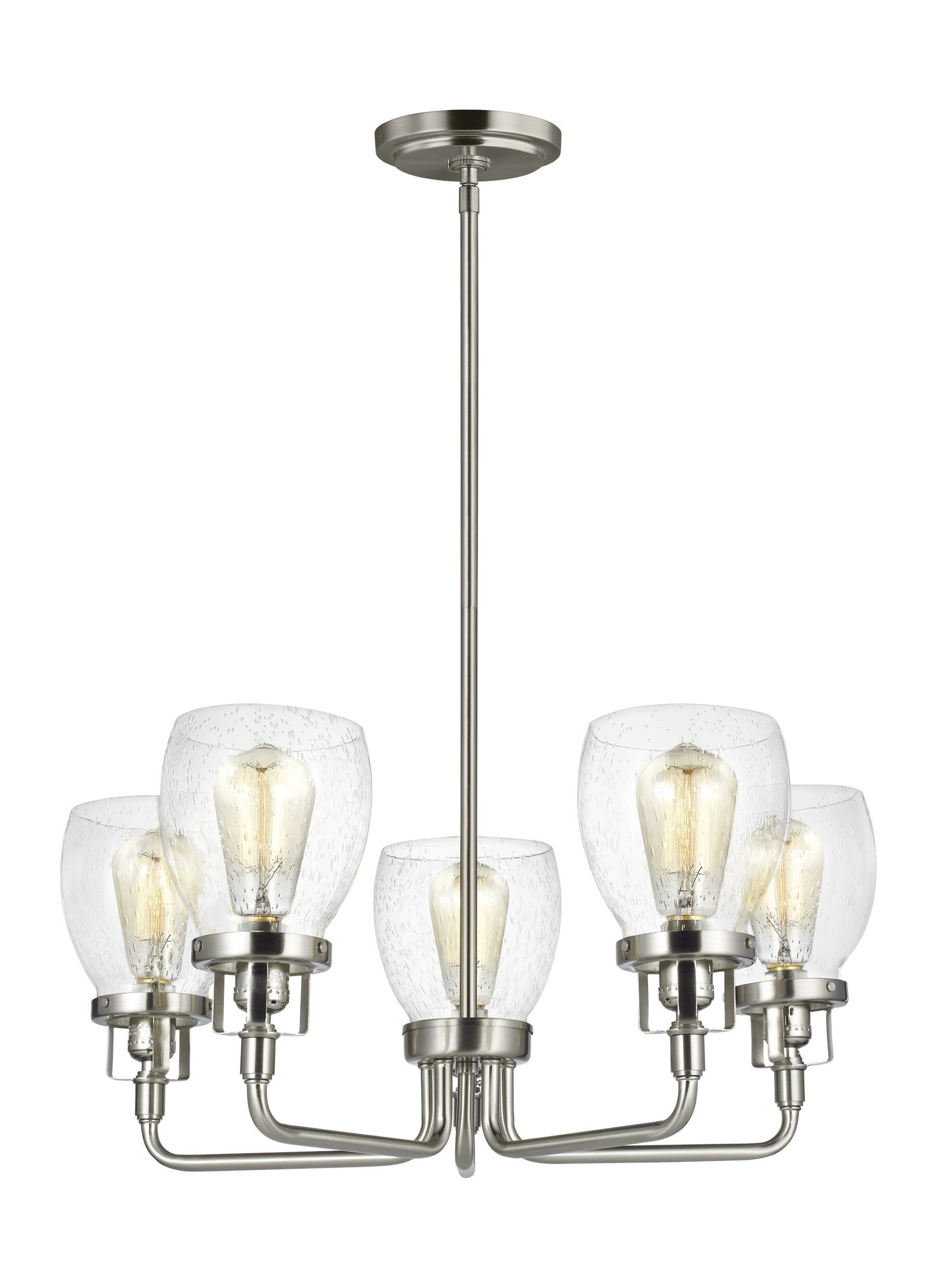Trent austin design panorama point 5 light candle style chandelier reviews wayfair