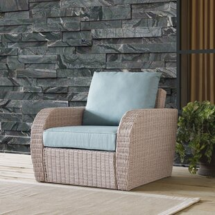 wicker patio chair cover wayfair rh wayfair com wicker patio chair with pull out ottoman wicker patio chair set