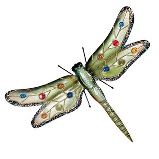 Beau Oversized Dragonfly Wall Decor