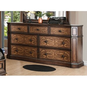 Barrington Transitional 7 Drawer Dresser by Fleur De Lis Living