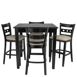 Weisser 5 Piece Pub Table Set