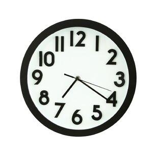 Large Office Wall Clocks | Wayfair