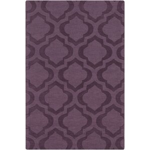 castro purple geometric kate area rug