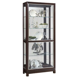 Beckman Lighted Curio Cabinet