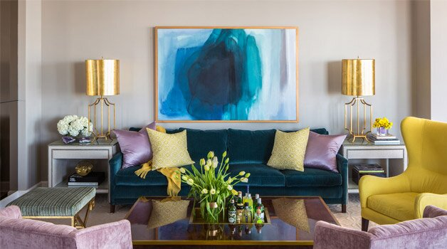Find out how to create a living room that leaves an impression design tobi fairley