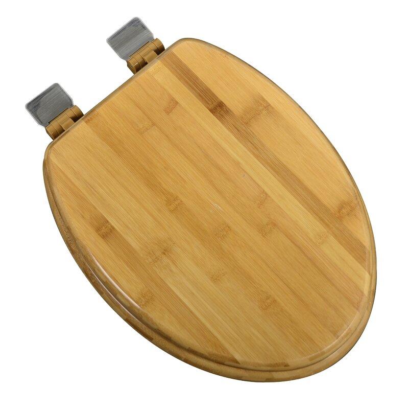 Plumbingtechnologiesllc Wood Decorative Elongated Toilet