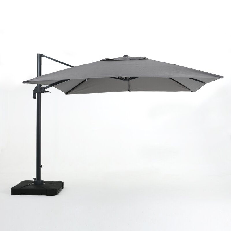 Wardingham 10u0027 Square Cantilever Umbrella  sc 1 st  Joss u0026 Main & Wardingham 10u0027 Square Cantilever Umbrella u0026 Reviews | Joss u0026 Main