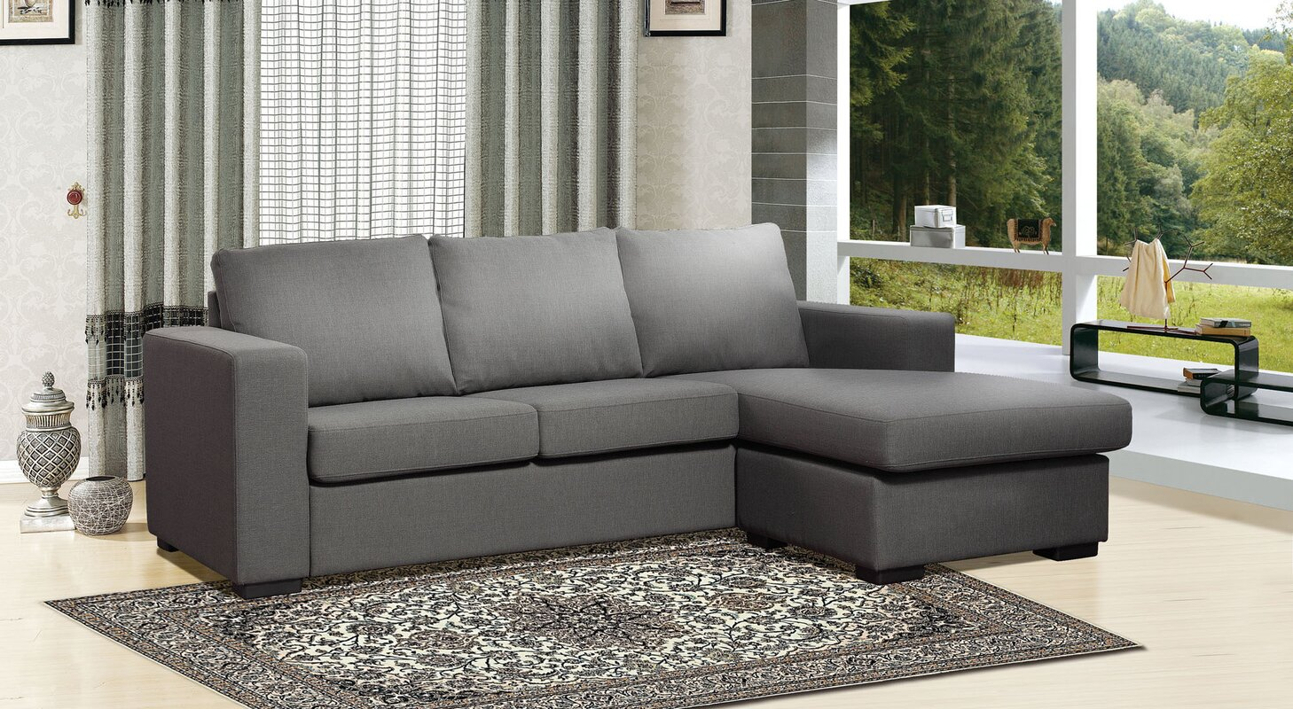 Osby Chaise Reversible Sectional Amp Reviews Allmodern