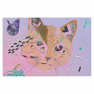 'Psychedelic Cat' Doormat