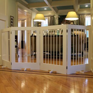 Perfect 4 Panel Tall Pet Gate