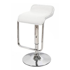 Omega Adjustable Height Swivel Bar Stool (Set of 2) by Vandue Corporation