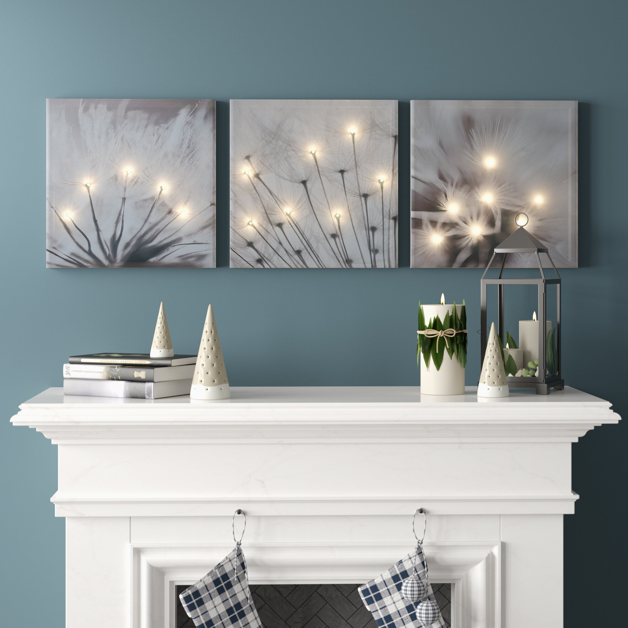Gallery Wrapped Canvas LED/Illuminated Wall Art You'll Love