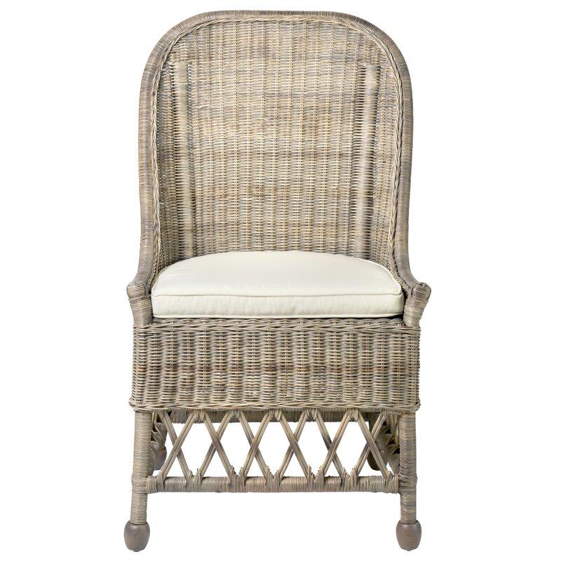 Genial Eastham Rattan Side Chair