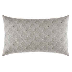 Chatfield Embroidered Cotton Breakfast Pillow
