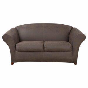 Ultimate Stretch Box Cushion Loveseat Slipcover