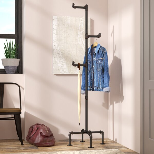 Williston Forge Maegan Industrial Coat Rack Reviews Wayfair Simple Room And Board Coat Rack